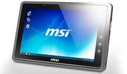 MSI WindPad 110W 3G 64GB SSD 4GB RAM Windows 7 mobile PC USD$399