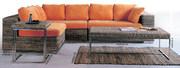 Hotsell china rattan furinture,  combine sofa, muebles de patio