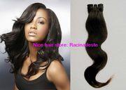 Virgin brazilian human hair weft body wave 1b