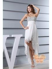 2014 hot sale fashionable prom dress chiffon imitated silk and prosper