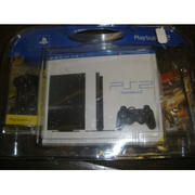Sony PlayStation 2 Slim Charcoal Black Console SCPH-77001CB Bundle