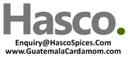 HASCO Spices - Exporter and Supplier of Guatemala Cardamom