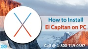 How to Install Mac OS X El Capitan 10.11 on PC