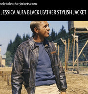 STEVE MCQUEEN HILTS GREAT ESCAPE LEATHER JACKET