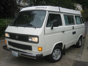 1987 Volkswagen BusVanagon Westfalia Camper Van Pop Top