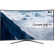 SAMSUNG UE55KU6500 Smart 4k Ultra HD HDR 55 Curved LED TV - Silver