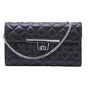 Women Designer Inspired Quilted Fashion Clutch