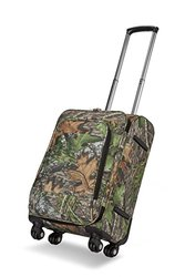 Lightweight Mossy Oak Licensed Pink Suitcase