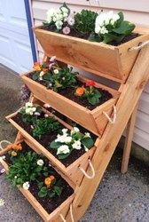 Best large gardening planters raised bed gardening system