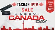 Tashan IPTV - Canada Day Sale