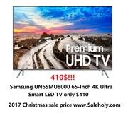 Samsung Electronics UN65MU8000 65-Inch 4K Ultra HD Smart LED TV