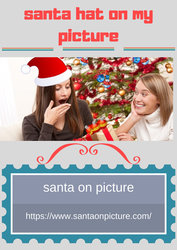 Create santa hat on my picture album