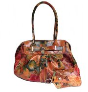 Genuine Floral Leather