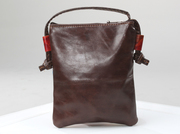 Leather Flowered Bandolerita Bag Crossbody Bag For $65