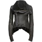 womens designer short zipper jacket