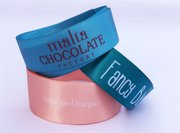 BUY CUSTOM MULTI COLOR LOGO RIBBON FOR YOUR EVENTS