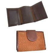 Capybara Carpincho Leather Hide Tri-Fold Unisex Wallet For $75