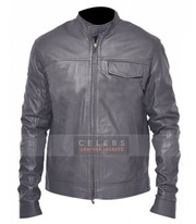 Transformers Shia Labeouf Flap Pocket Grey Jacket