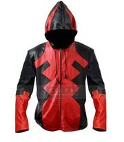 Deadpool Ryan Reynolds Full Zip Cosplay Costume Hooded Jacket