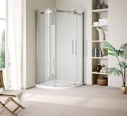 DABBL- Frameless,  Sliding Shower Doors,  Glass Shower Enclosure