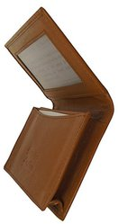 Caramel Leather Expandable Credit Card / ID Holders Case - EB-1099