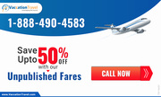Book Discounted Flight Tickets - VaccationTravel