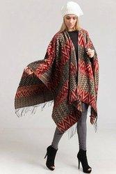Luxurious 100% Handmade Alpaca Ruana Wrap For $115