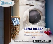 Pick-Up Laundry Service in Long Island | Long Island Laundry Company