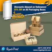 Discounts Abound on Halloween! 25% Off on All Packaging Boxes