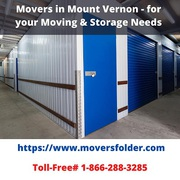 Movers in Mount Vernon - for your Moving & Storage Needs