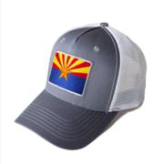 International Tie Arizona Flag Snapback Trucker Baseball Hat