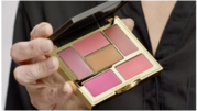 Find A Glamorous look with lip and cheek palette