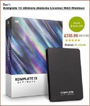KOMPLETE 13 and other musical
