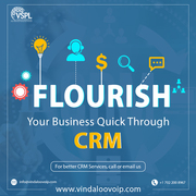 Flourish Your Business Quick Through CRM