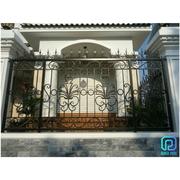 Vietnamese Manufactuere Of Custom Wrought Iron Garden Fence Panels