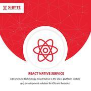 React Native Mobile App Development Company USA  | X-Byte