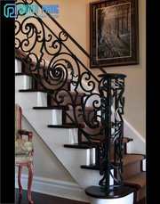 Vietnamese Manufacturer of Wrought Iron Railings For Stairs and Balcon