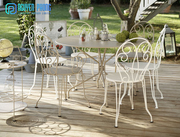 Affordable Wrought Iron Dining Chair and Table Sets,  Garden Sets