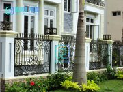For Sale Customized Size For High-end Wrought Iron Garden Fence