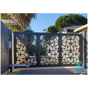 Beautiful Laser Cut Metal Gates With Various Available Models