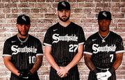 Men's Chicago White Sox #10 Yoan Moncada Stitched Nike Black 2021 MLB
