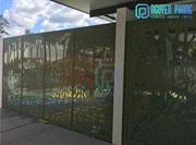 Laser Cut Metal Fencing Panels For Garden,  Schools,  Swimming Pools,  Vi