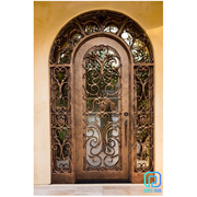 European Wrought Iron Entry Doors With Reasonable Prices