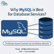 Why MySQL is Best for Database Services?
