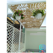 For Sale High-end Wrought Iron and Laser Cut Canopies/ Pergolas