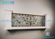 High-end Wrought Iron Railing Collection For Balconies At NGUYEN PHONG