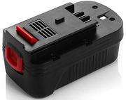 Power Tool Battery for Black & Decker HPB18
