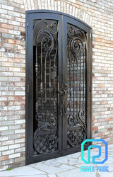 Best manufacturer of wrought iron doors for classic houses,  villas