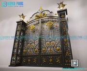 Manufacturer of luxury wrought iron gates for villas