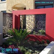 Artistic iron fencing panels for house,  villa,  resort,  school